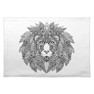 Inspired Lion Head 4 Placemat