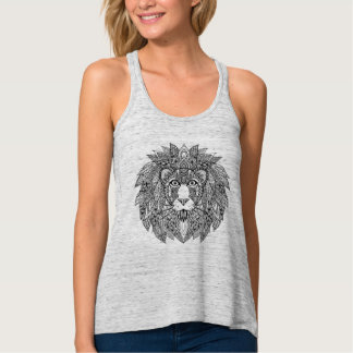 Inspired Lion Head 4 Tank Top