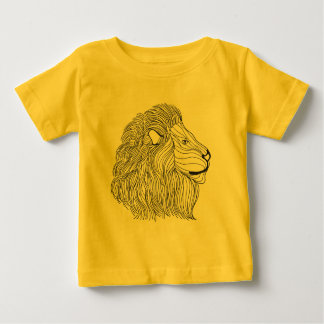 Inspired Lion Head 5 Baby T-Shirt