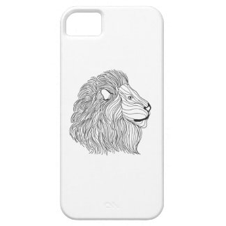 Inspired Lion Head 5 iPhone 5 Covers