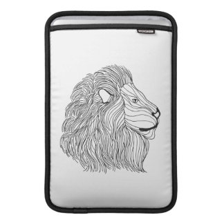 Inspired Lion Head 5 Sleeve For MacBook Air