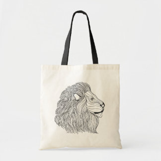 Inspired Lion Head 5 Tote Bag