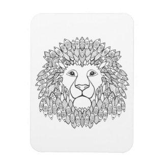 Inspired Lion Head Magnet