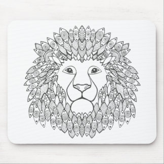 Inspired Lion Head Mouse Mat