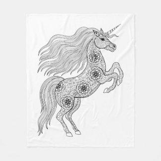 Inspired Magic Unicorn Fleece Blanket