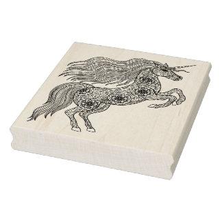 Inspired Magic Unicorn Rubber Stamp