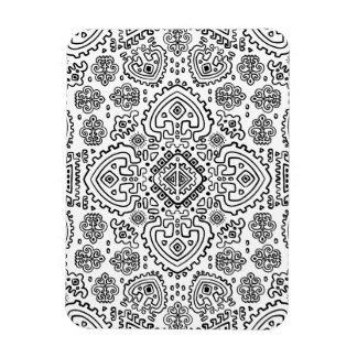 Inspired Mexican Tribal Pattern Magnet