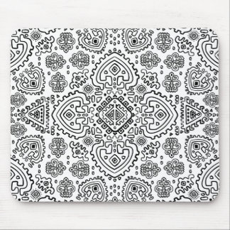 Inspired Mexican Tribal Pattern Mouse Mat