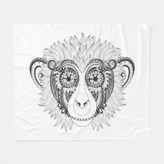 Inspired Monkey Fleece Blanket