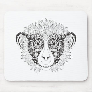 Inspired Monkey Mouse Mat