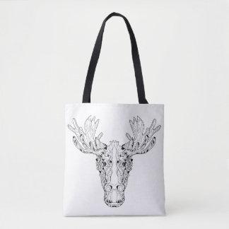 Inspired Of An Elk 2 Tote Bag