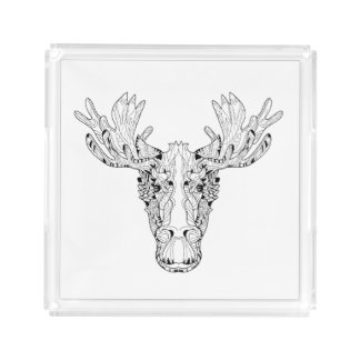 Inspired Of An Elk Acrylic Tray