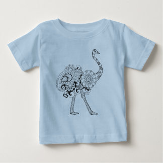 Inspired Ostrich Baby T-Shirt