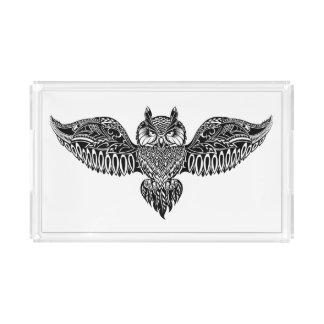 Inspired Owl Acrylic Tray