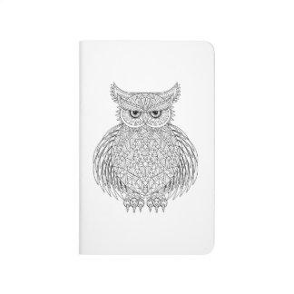 Inspired Owl Bird Totem Journal