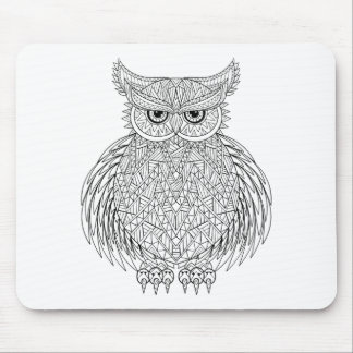 Inspired Owl Bird Totem Mouse Mat