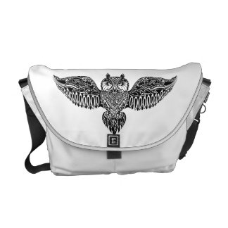 Inspired Owl Courier Bags