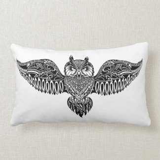 Inspired Owl Lumbar Cushion