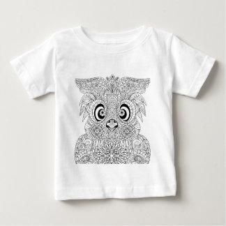 Inspired Owl Portrait Baby T-Shirt