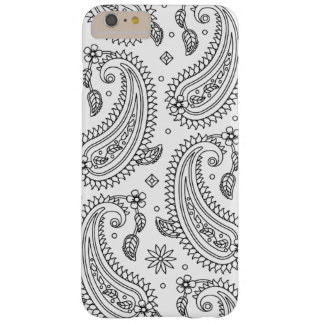 Inspired Paisley Design Barely There iPhone 6 Plus Case