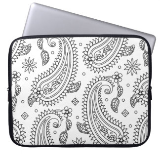 Inspired Paisley Design Laptop Sleeve