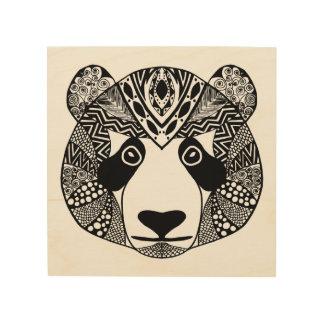 Inspired Panda 5 Wood Wall Art