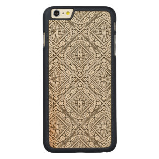 Inspired Pattern Carved® Maple iPhone 6 Plus Case