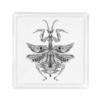 Inspired Praying Mantis Acrylic Tray