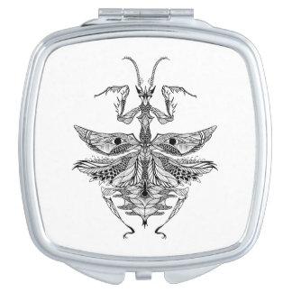 Inspired Praying Mantis Vanity Mirrors