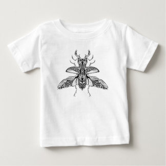 Inspired Psychedelic Stag-Beetle Baby T-Shirt