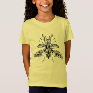 Inspired Psychedelic Stag-Beetle T-Shirt