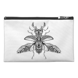 Inspired Psychedelic Stag-Beetle Travel Accessory Bag