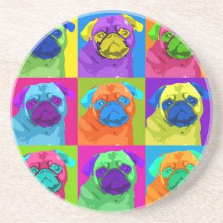 inspired Pug Coaster
