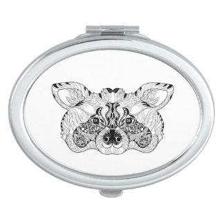 Inspired Raccoon Vanity Mirrors