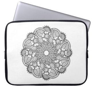 Inspired Round Design Laptop Sleeve