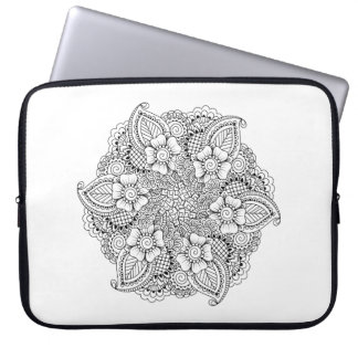 Inspired Round Element Laptop Sleeve