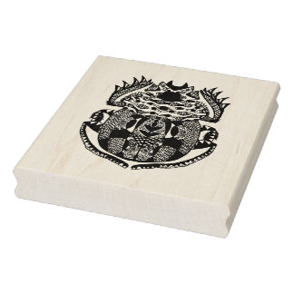 Inspired Scarab Rubber Stamp