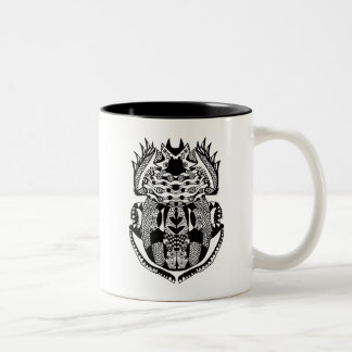Inspired Scarab Two-Tone Coffee Mug