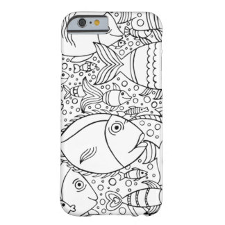 Inspired School Of Fish Barely There iPhone 6 Case