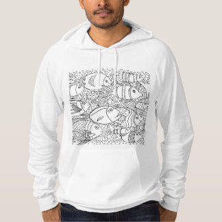 Inspired School Of Fish Hoodie