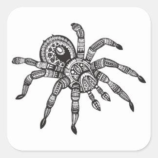 Inspired Spider Square Sticker