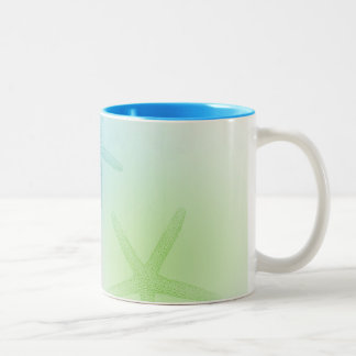 Inspired Starfish Two-Tone Coffee Mug