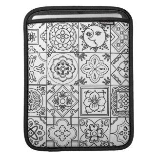 Inspired Talavera Pattern iPad Sleeve