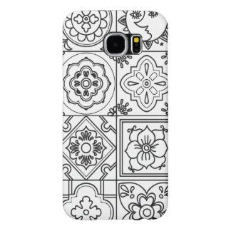 Inspired Talavera Pattern Samsung Galaxy S6 Cases