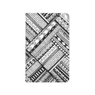Inspired Tribal Art Pattern Journal