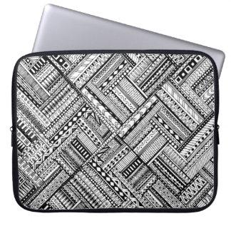 Inspired Tribal Art Pattern Laptop Sleeve