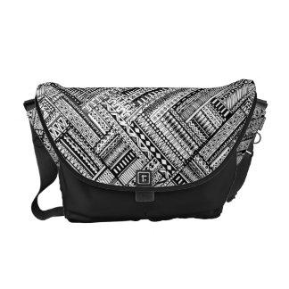 Inspired Tribal Art Pattern Messenger Bag