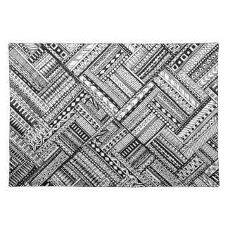 Inspired Tribal Art Pattern Placemat
