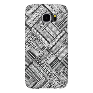 Inspired Tribal Art Pattern Samsung Galaxy S6 Cases