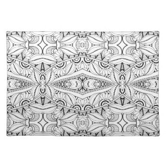 Inspired Tribal Design Placemat